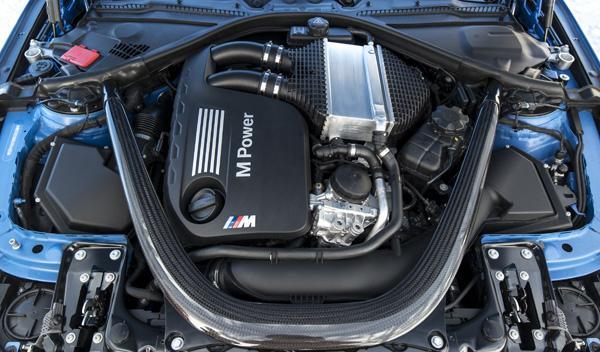 Nuevo BMW M3 motor