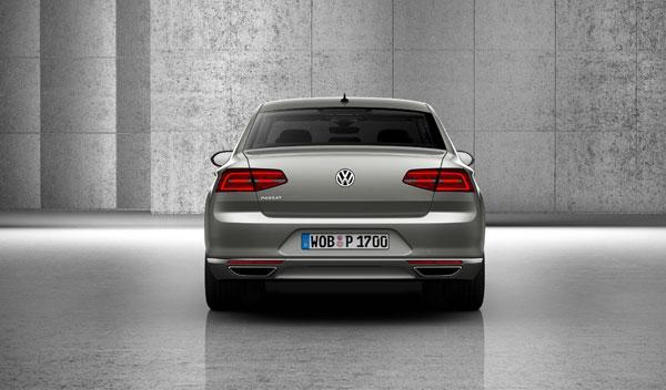 nuevo volkswagen passat 2014 trasera