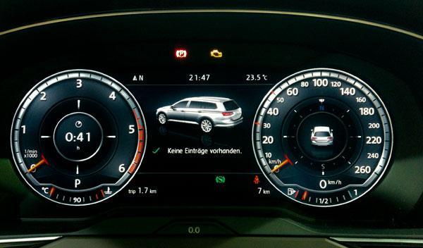 nuevo volkswagen passat 2014 active info display