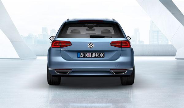 nuevo volkswagen passat variant 2014 trasera