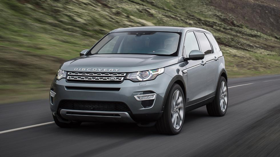 Land Rover Discovery Sport morro