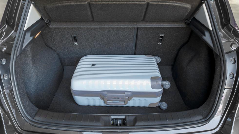 Nissan Pulsar maletero