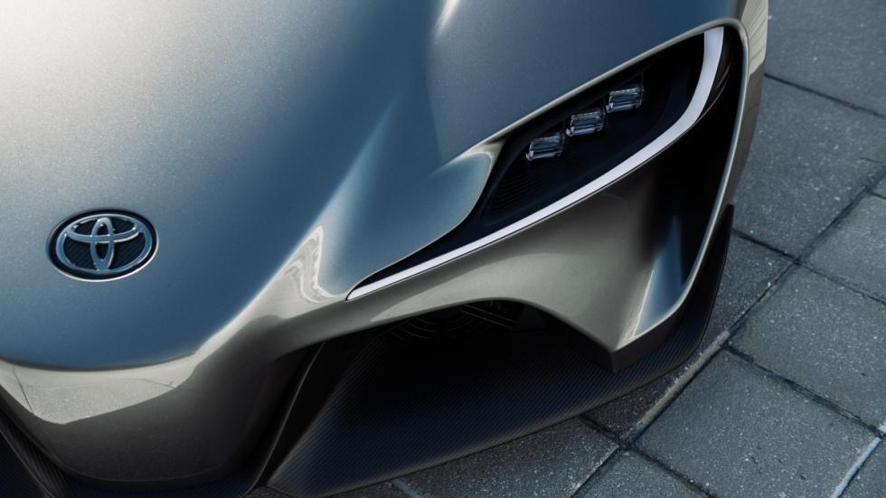 Toyota FT-1 concept detalle faro
