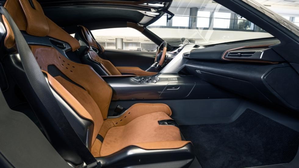 Toyota FT-1 concept interior