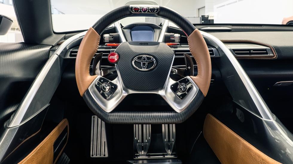Toyota FT-1 concept salpicadero