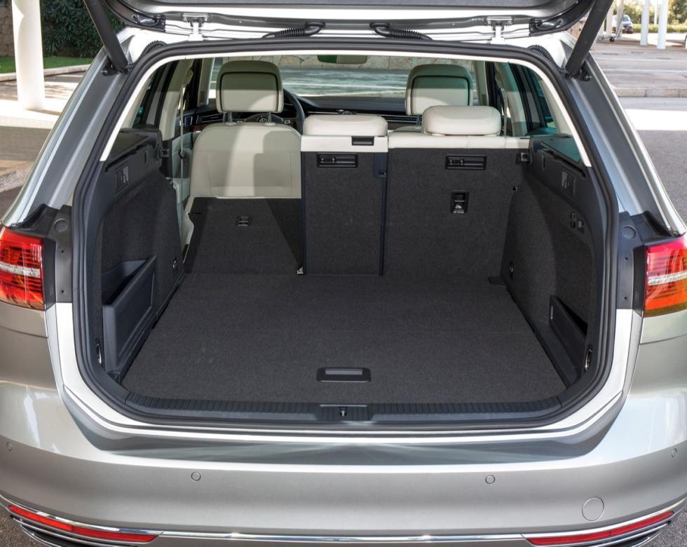 nuevo volkswagen passat variant 2014 maletero