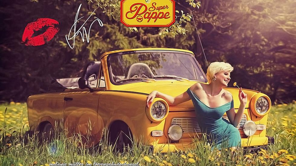 Super Pappe 2015: Trabant y chicas sexys