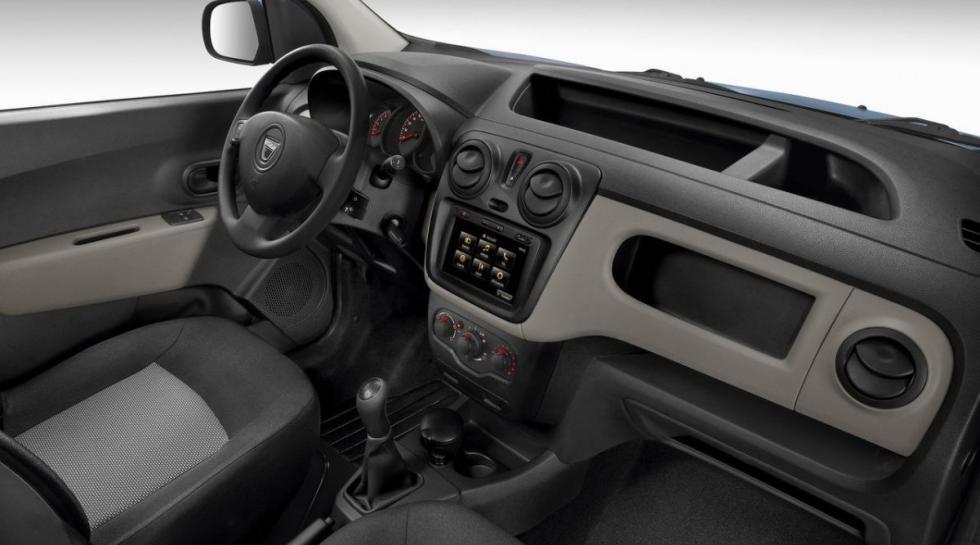 Dacia Dokker interior