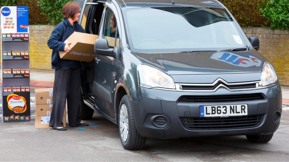 Citroën Berlingo delantera