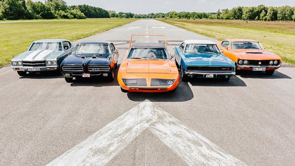 Los 5 muscle-cars más excitantes de todos los tiempos