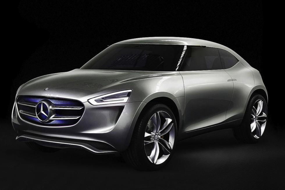 Mercedes-Benz G Code concept frontal