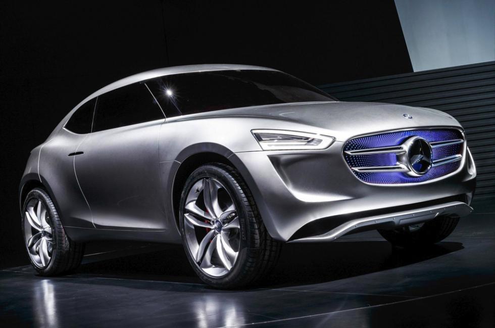 Mercedes-Benz G Code concept delantera