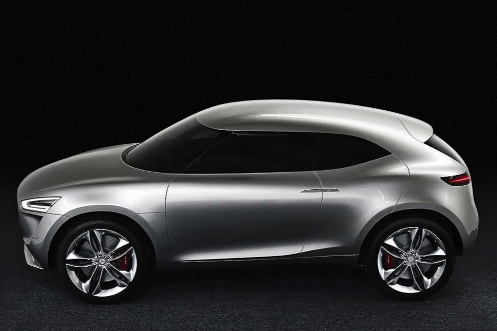 Mercedes-Benz G Code concept lateral