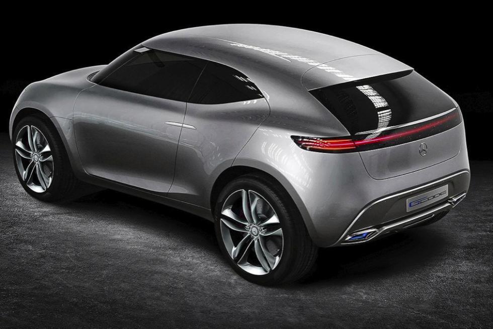 Mercedes-Benz G Code concept techo