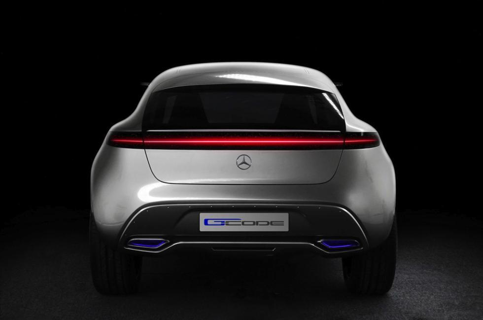Mercedes-Benz G Code concept zaga
