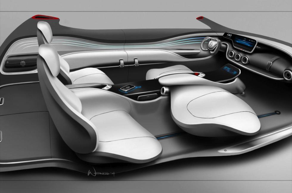 Mercedes-Benz G Code concept asientos