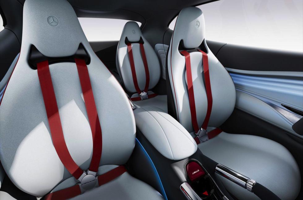 Mercedes-Benz G Code concept interior