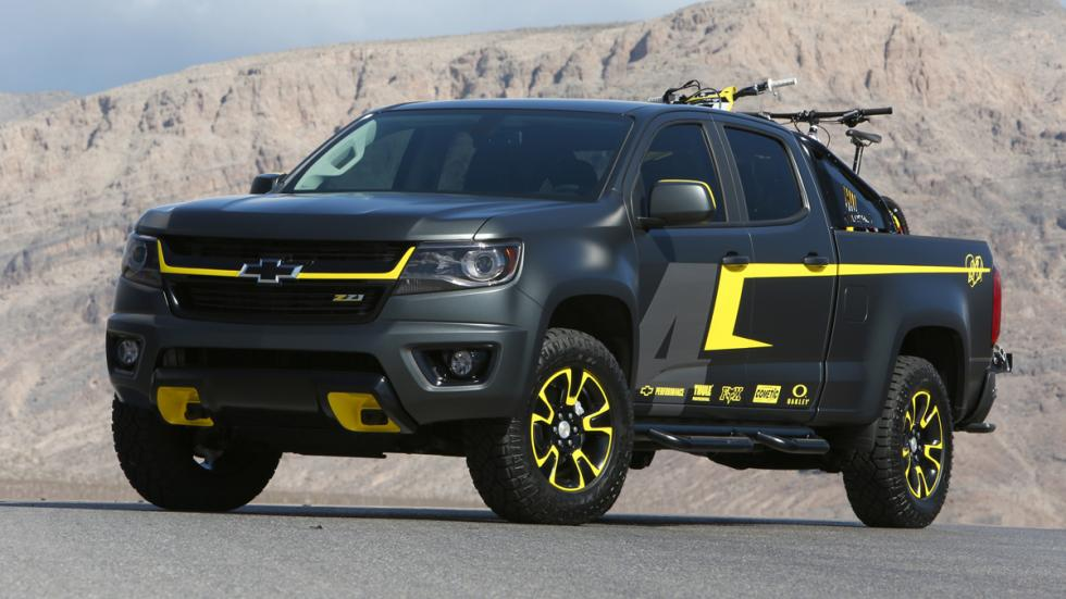 Chevrolet Colorado Performance Concept - frontal - exterior