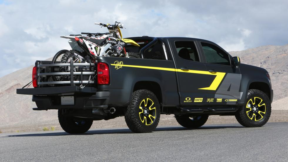 Chevrolet Colorado Performance Concept - trasera - exterior