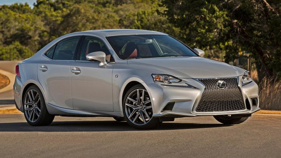 10 coches mas fiables estados unidos Lexus IS
