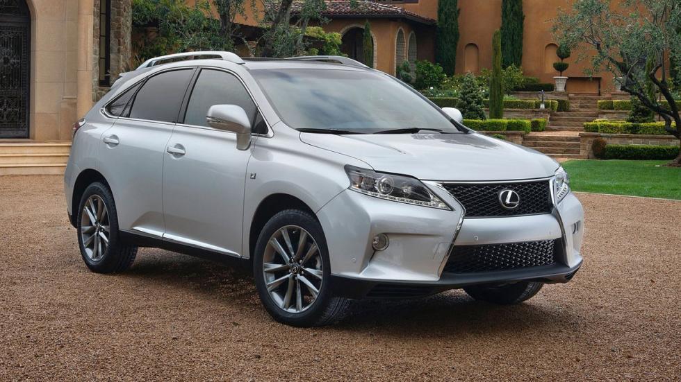 10 coches mas fiables estados unidos Lexus RX