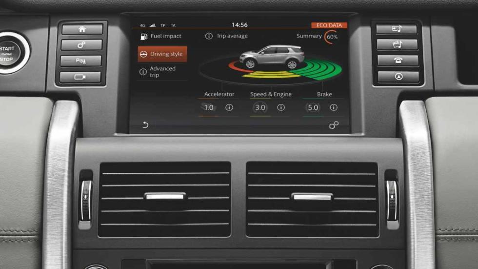 Land Rover Discovery Sport pantalla multifunción