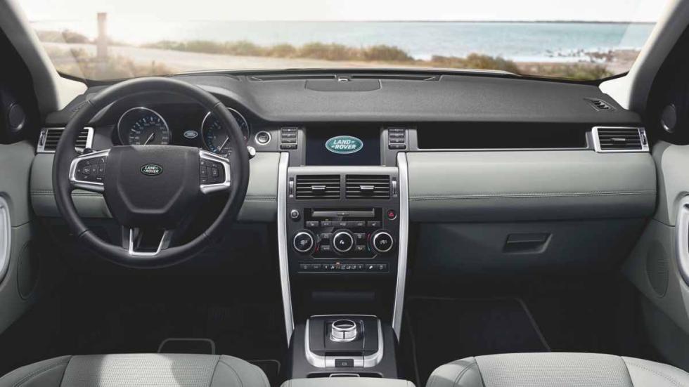 Land Rover Discovery Sport puesto conducción