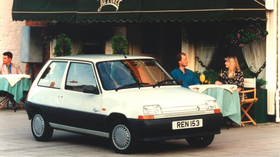 Renault 5 delantera Supercinco