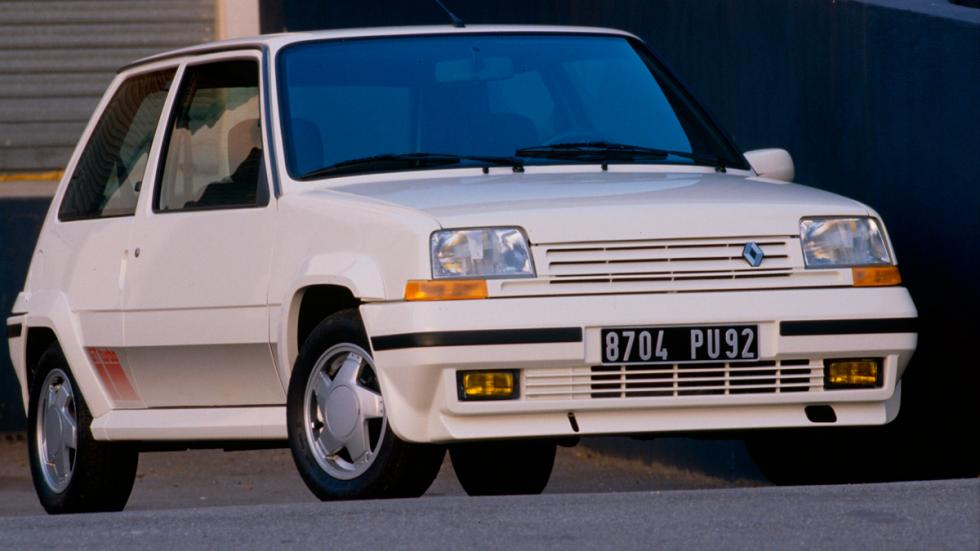 Renault 5 delantera Supercinco turbo