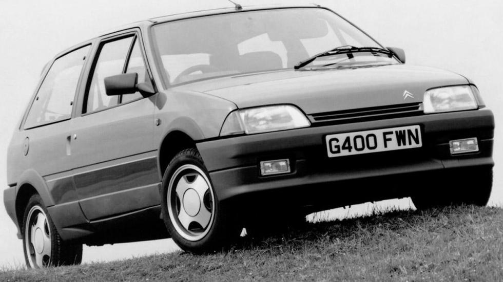 Citroën AX delantera gt sport