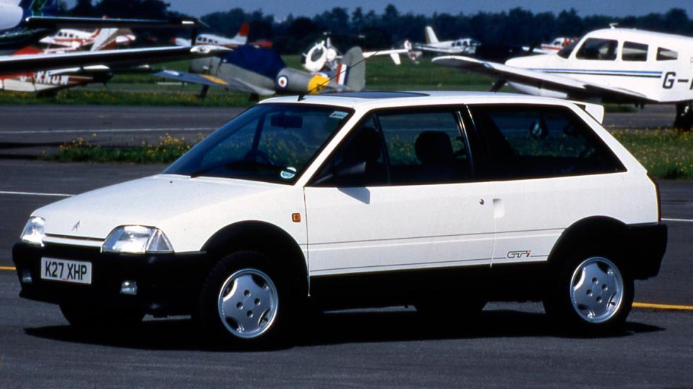 Citroën AX delantera gti