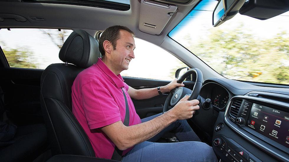 Kia Sorento 2015 conducción