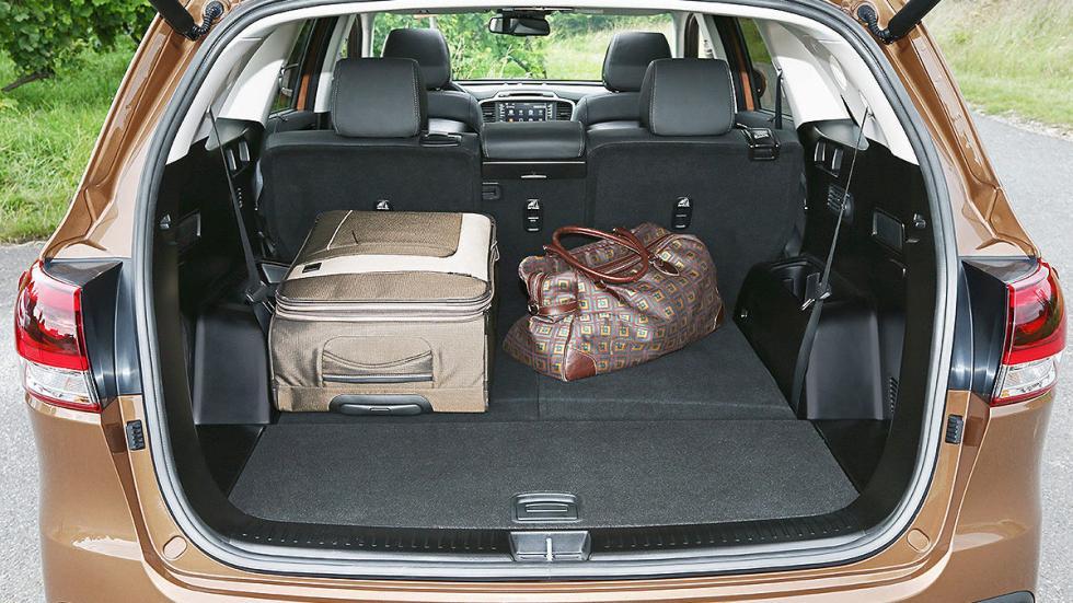 Kia Sorento 2015 consola tres maletero