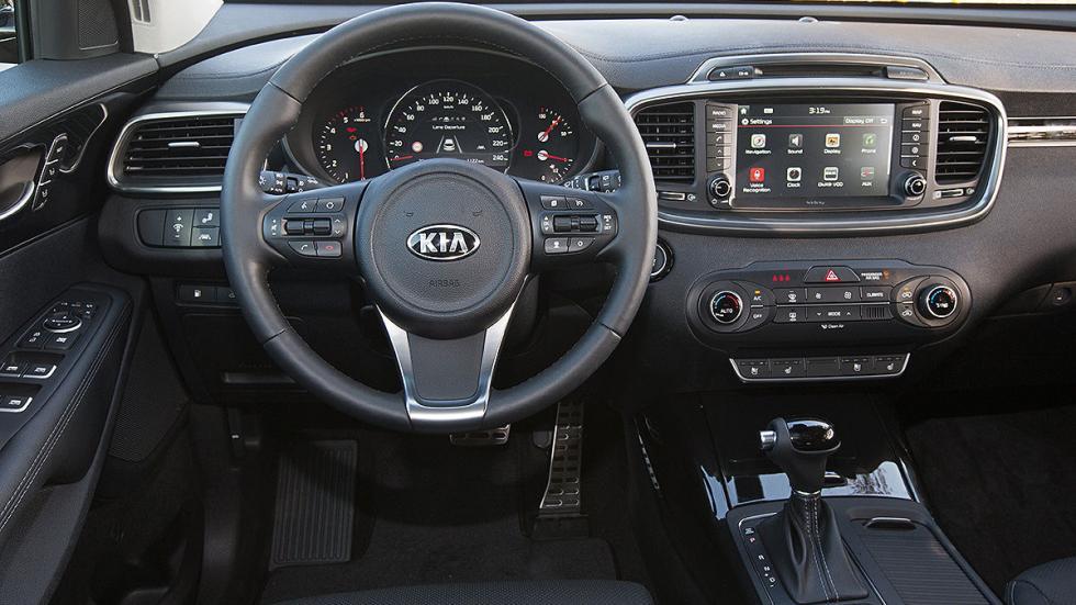 Kia Sorento 2015 consola volante