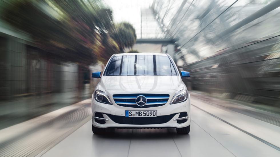 Mercedes Clase B Electric Drive delantera
