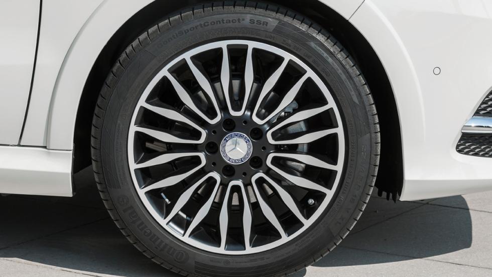 Mercedes Clase B Electric Drive llantas