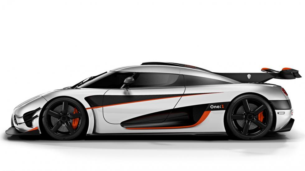 Koenigsegg Agera One:1- lateral