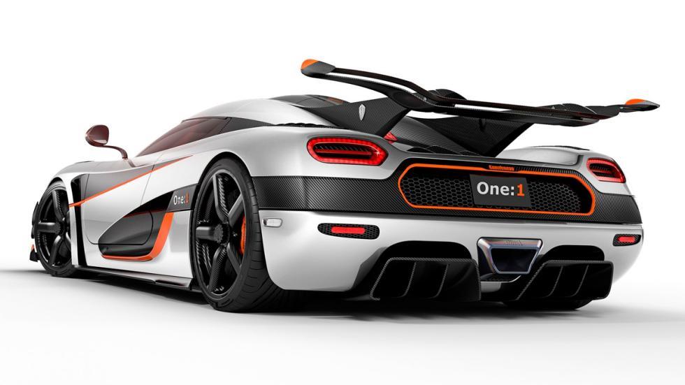 Koenigsegg Agera One:1 - trasera