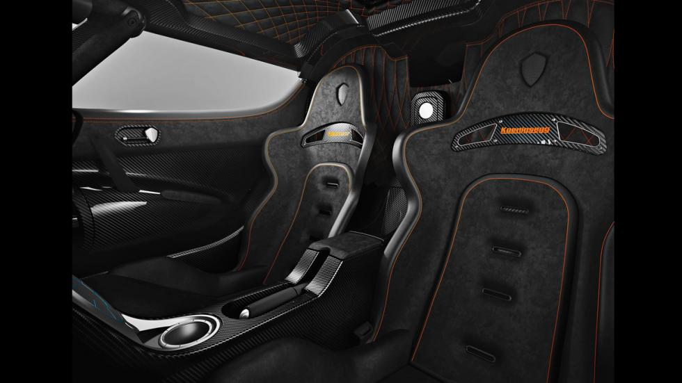Koenigsegg Agera One:1 - interior