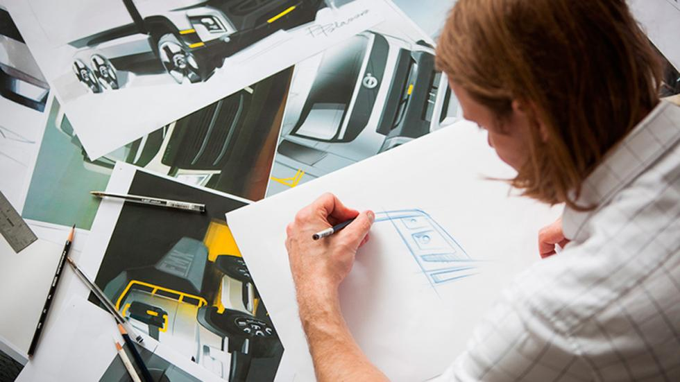 Volvo FH sketching