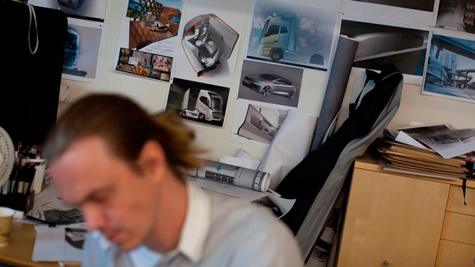 Volvo FH bocetos terminados