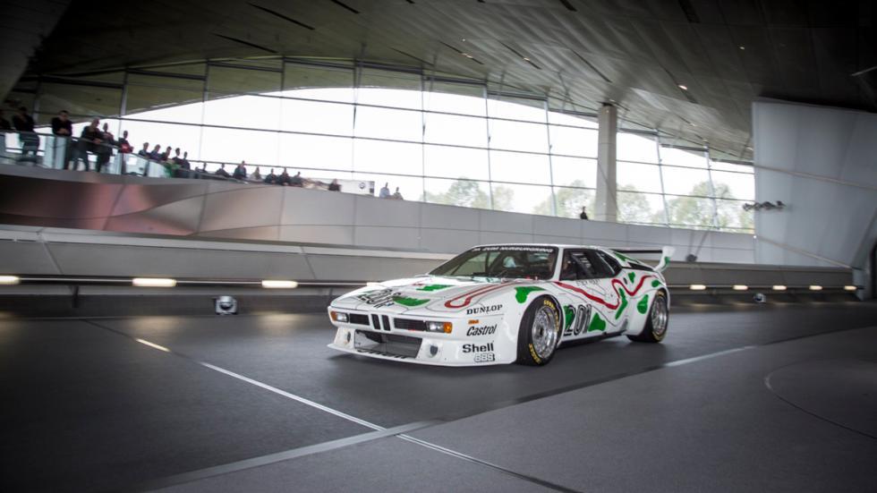 BMW M1 Procar - Llegada del coche al BMW Welt