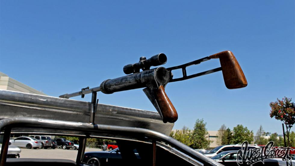 Magnum Opus detalle detalle rifle