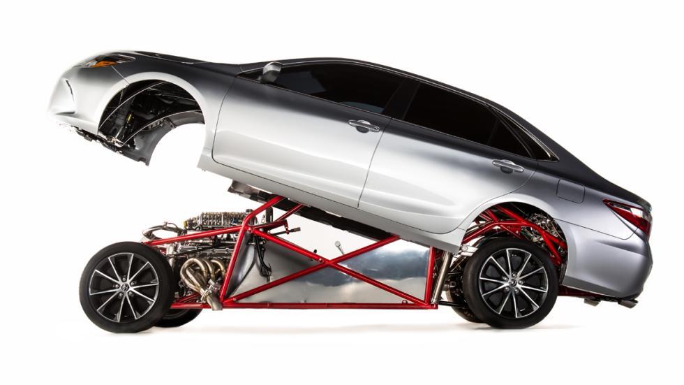coches bestias sema 2014 Toyota Sleeper Camry