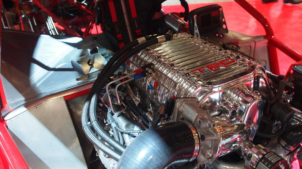 coches bestias sema 2014 Toyota Sleeper Camry motor