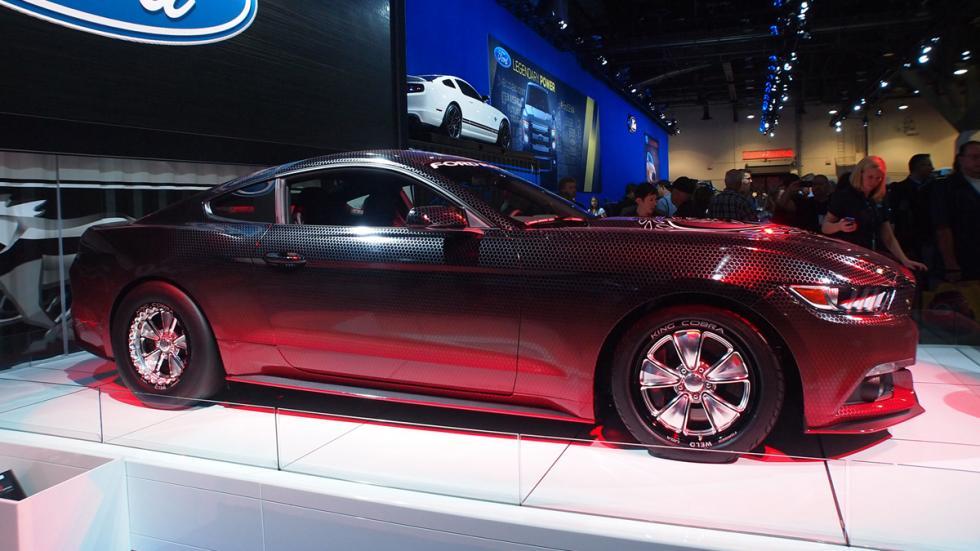coches bestias sema 2014 Ford Mustang King Cobra