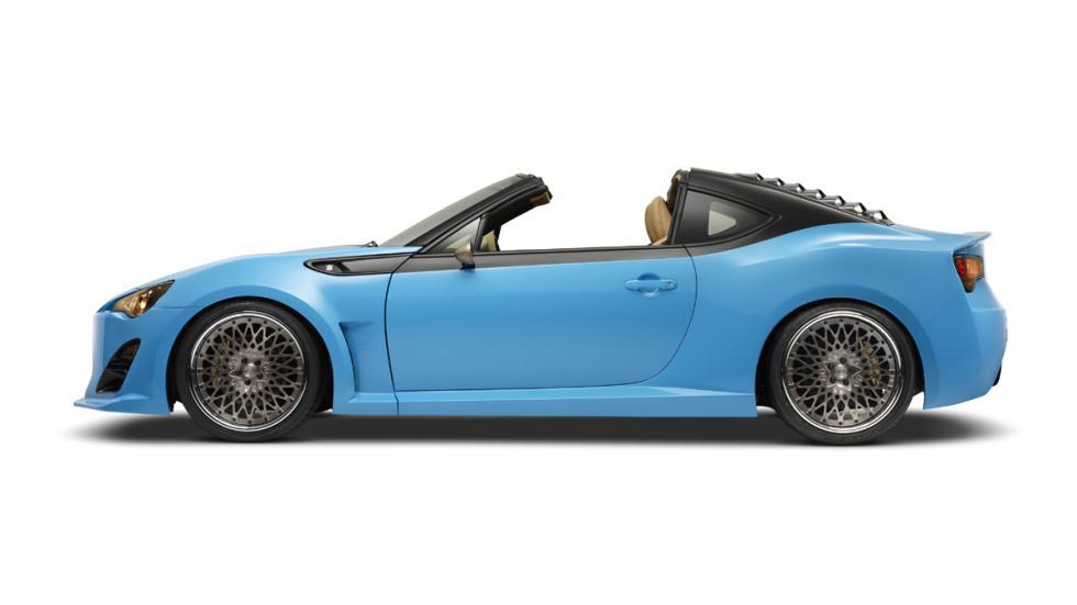 coches bestias sema 2014 Scion FR-S Targa lateral