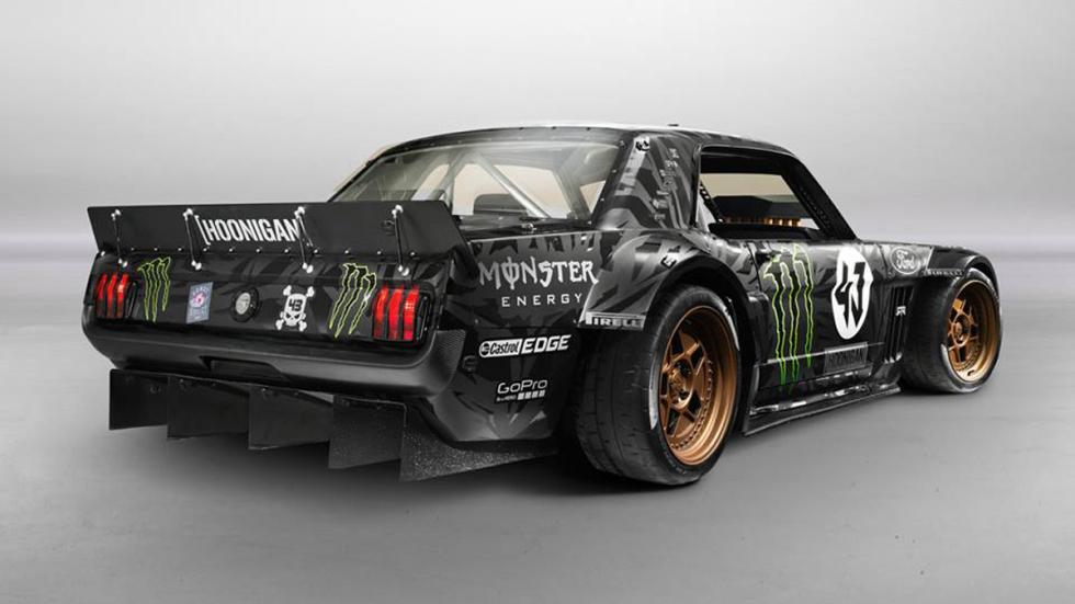 Hoonicorn_RTR Ford Mustang Ken Block trasera