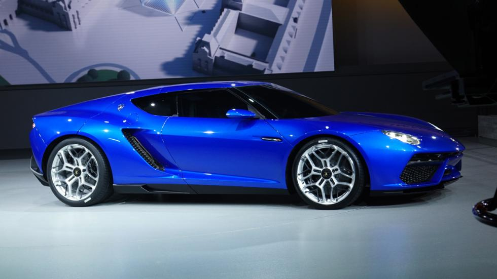cinco mejores superdeportivos 2014 Lamborghini Asterion lateral