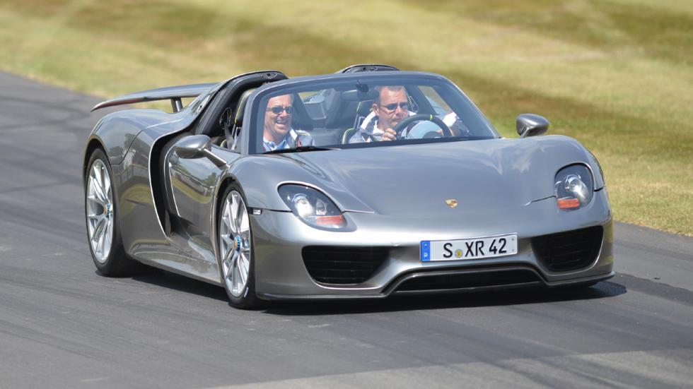 cinco mejores superdeportivos 2014 Porsche 918 Spyder